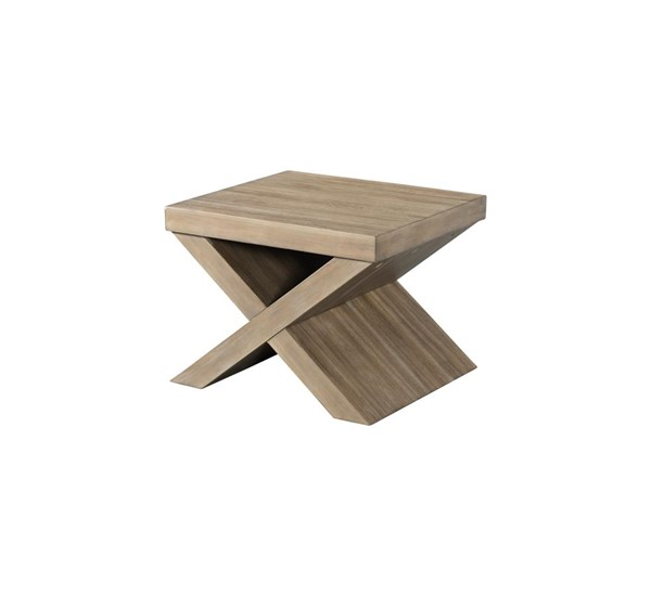 Lane Furniture Tustin Mushroom Oak Square Bunching Table LNF-7041-42