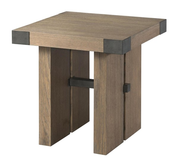 Lane Furniture Urban Swag Oak Square End Table LNF-7054-47