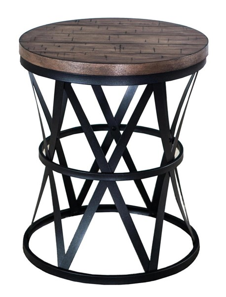 Lane Furniture Wheat Round Barrel Table LNF-7328-40