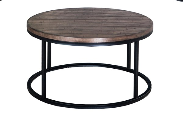 Lane Furniture Wheat Round Cocktail Table LNF-7328-45