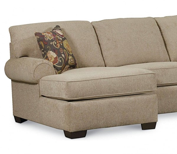 Vivian Transitional Tan Fabric LSF One Arm Chaise LNF-738-85-4306-17-1319-42