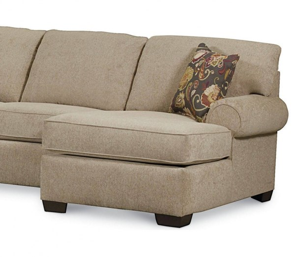Vivian Transitional Tan Fabric RSF One Arm Chaise LNF-738-86-4306-17-1319-42