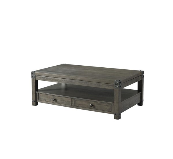 Lane Furniture Greige Wood Lift Top Cocktail Table LNF-7593-45
