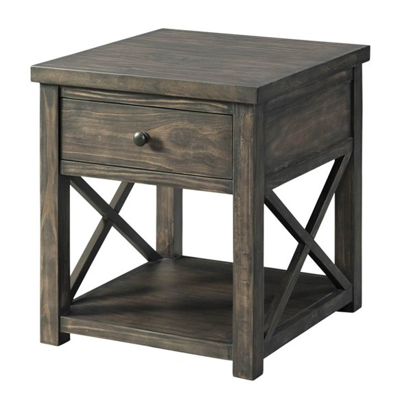 Lane Furniture Weathered Brown End Table LNF-7607-47