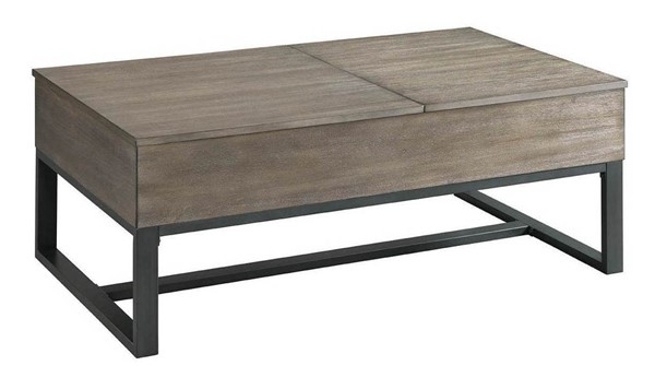 Lane Furniture Driftwood Lift Top Cocktail Table LNF-7609-45