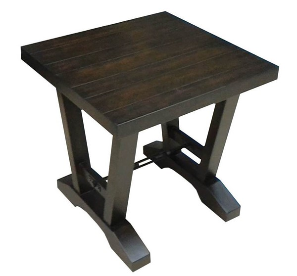 Lane Furniture Rich Coffee Wood End Table LNF-7611-47