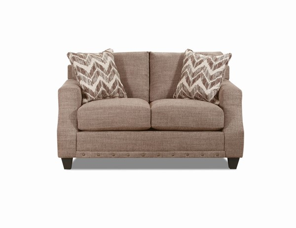 Lane Furniture Crosby Pewter Loveseat LNF-8025-02-Crosby-Pewter