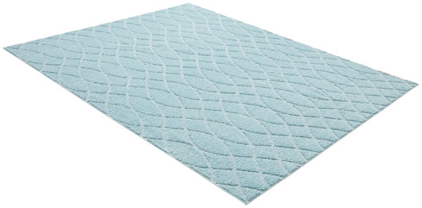 Lane Furniture Weldon Natoma Angle Blue Area Rug -7.5x9.5 LNF-R11