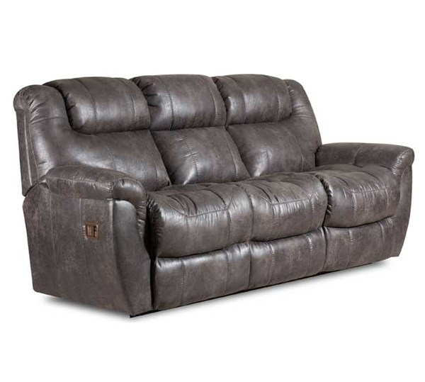 Lane Furniture Montgomery Padre Grey Two Arms Double Reclining Sofa LNF-216-96-4303-14