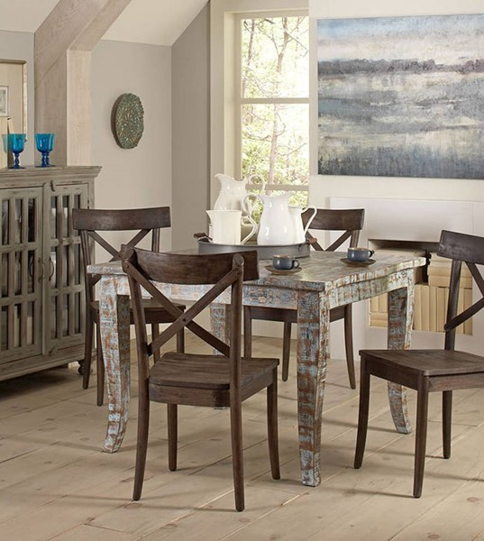 Largo Artisan Distressed Square Dining Table LRG-D373-31