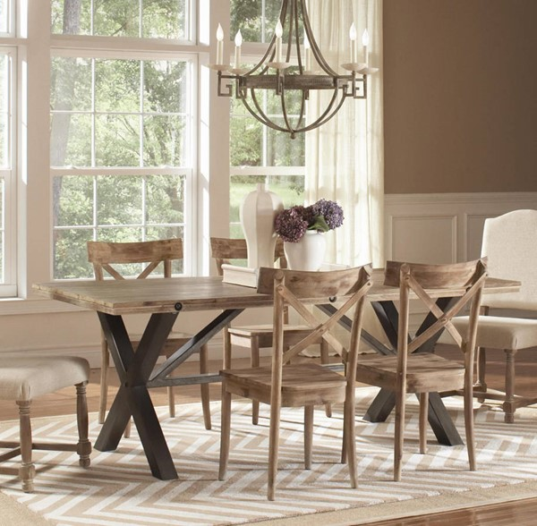 Largo Callista Beach Natural Dining Table LRG-D680-31