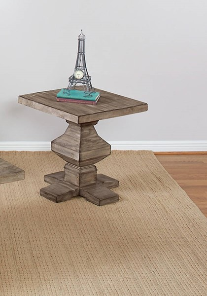 Largo Willow Creek Square End Table LRG-T870-125
