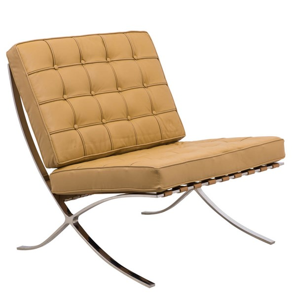Design Edge Coolongolook  Light Brown Pavilion Chair DE-22366616