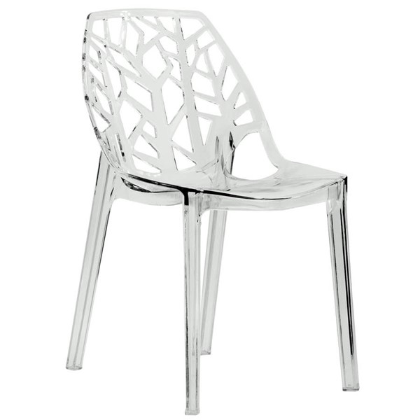 Design Edge Dapto  Clear Dining Chair DE-22367241