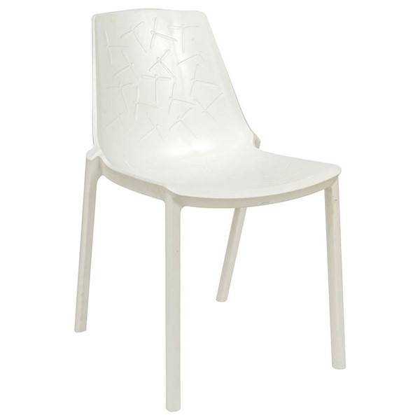 Design Edge Crookwell  White Dining Chair DE-22367031