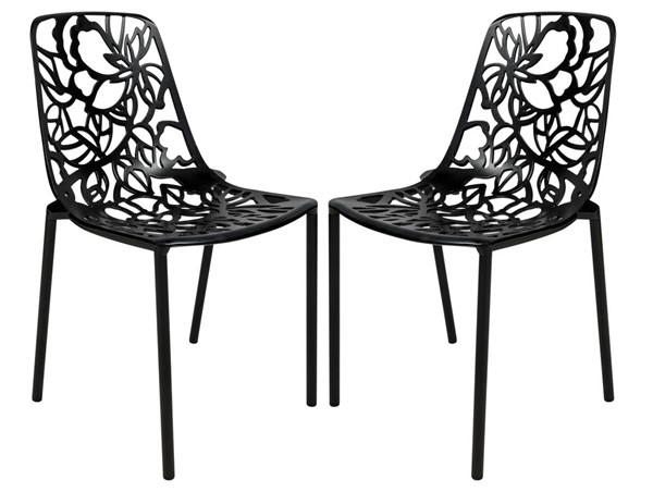 Design Edge Delungra  2 Armless Chairs DE-22367977