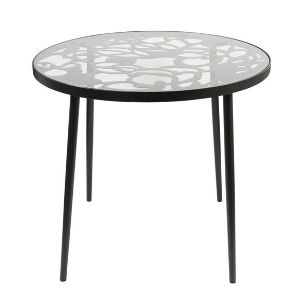Design Edge Delungra  Black Tree Dining Table DE-23416937