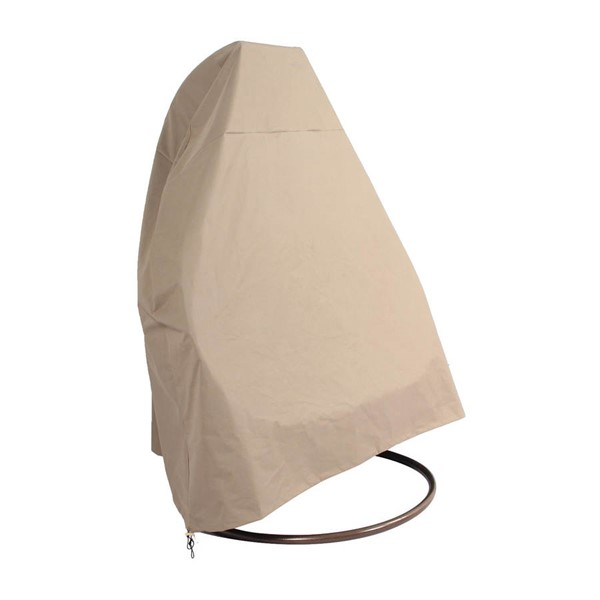 LeisureMod Egg Brown Hanging Swing Chair Cover LSM-ESC57C