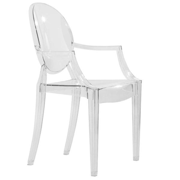 Design Edge Corowa  Clear Acrylic Chair DE-22366937