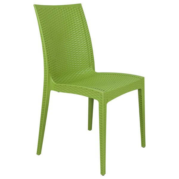 Design Edge Henty  Green Mace Indoor Outdoor Dining Chair DE-22370969