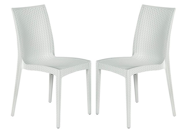 Design Edge Henty  2 Armless Dining Chairs DE-22371009