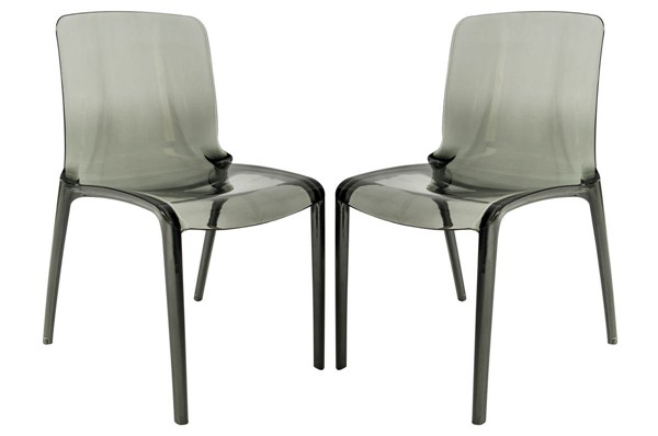Design Edge Gol Gol 2  Black Dining Chairs DE-22370145