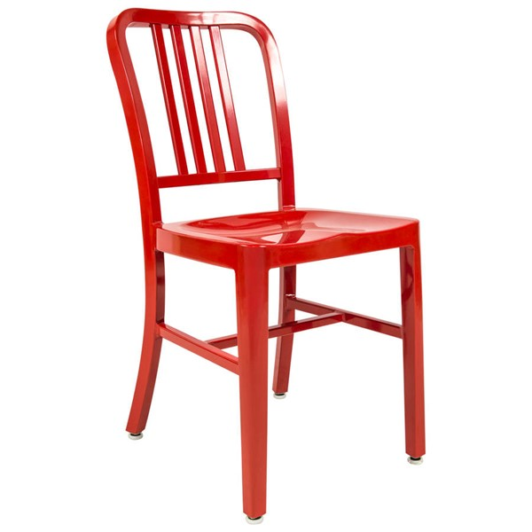 Design Edge Canowindra  Red Side Dining Chair DE-22365726