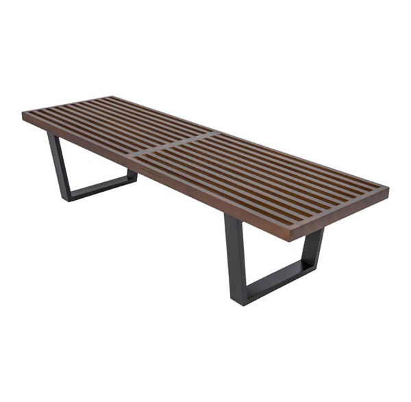 Design Edge Greenhill  Dark Walnut 5 Feet Platform Bench DE-22369324