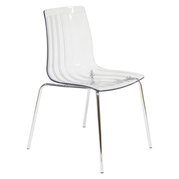 Design Edge Grenfell  Clear Dining Chair DE-22370392
