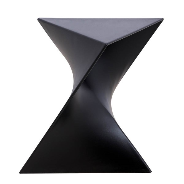 Design Edge Greta  Black Vanity Side Table DE-22370477