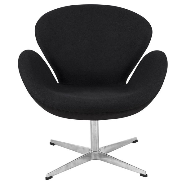 Design Edge Hawks Nest  Black Arne Jacobsen Chair DE-22370846