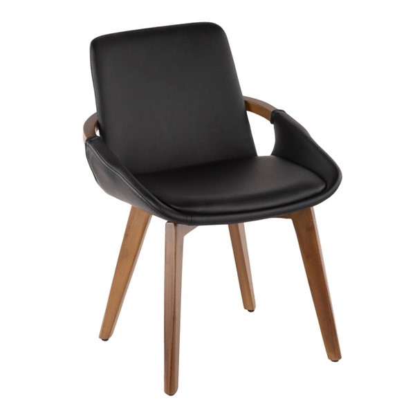 Lumisource Cosmo Black Chair LUMI-CH-COSMO-WL-BK