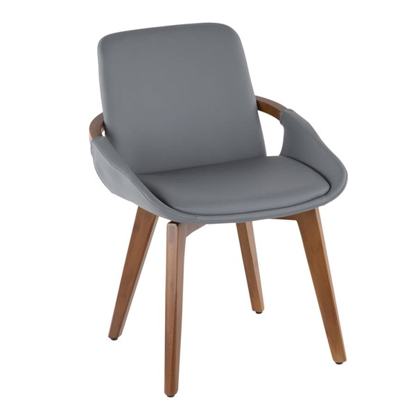Lumisource Cosmo Grey Chair LUMI-CH-COSMO-WL-GY