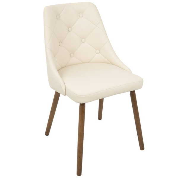 Lumisource Giovanni Cream Chair LUMI-CH-GIOV-WL-CR