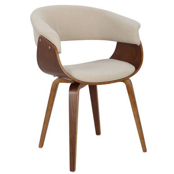Lumisource Vintage Mod Cream Chair LUMI-CH-VMONL-WL-CR