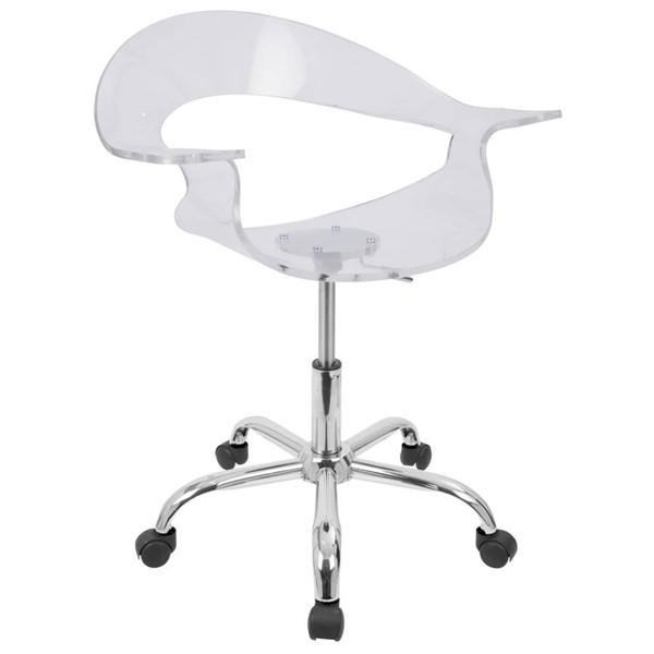 Lumisource Rumor Clear Office Chair LUMI-CHR-TW-RUMOR-CL