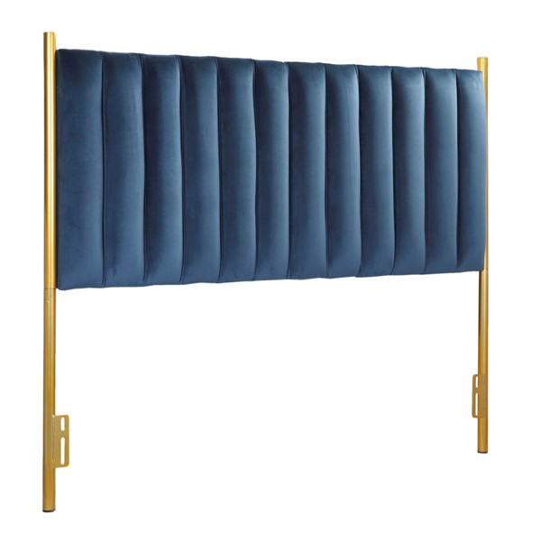 Lumisource Chloe Gold Blue Headboard LUMI-HB-CHLOE-AUVBU