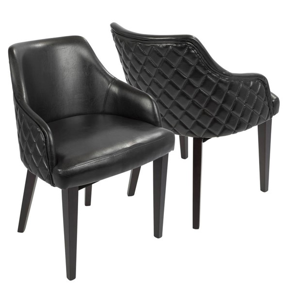Lumisource Esteban Black Dining Chairs LUMI-DC-ESTBN-E-VAR