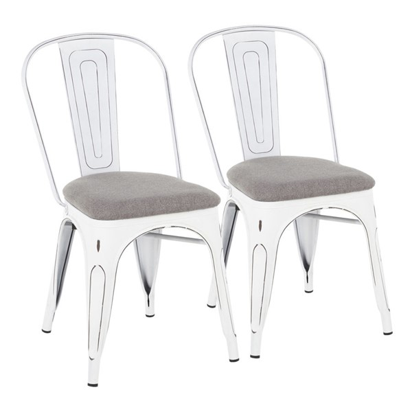 LumiSource Oregon Upholstered Chairs LUMI-DC-ORUP-VW-LGY2-CH-VAR
