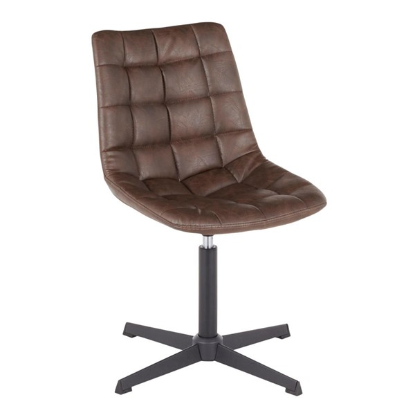 LumiSource Quad Dark Brown Chair LUMI-DC-QUAD-BKDBN