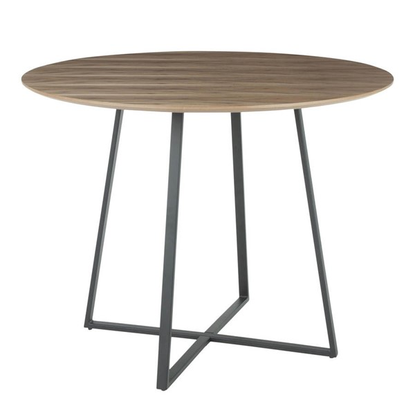 Lumisource Cosmo Black Walnut Wood Dining Table LUMI-DT-COSMO2-BKWL