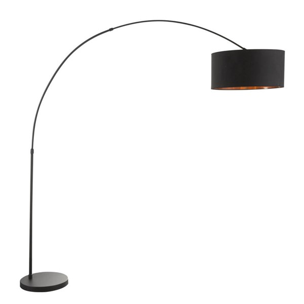 Lumisource Salon Black Shade Floor Lamps LUMI-LS-SALFLBK-VAR