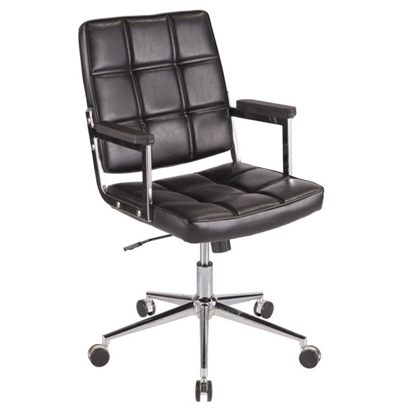 Lumisource Bureau Black Office Chairs LUMI-OC-BUREAU-VAR