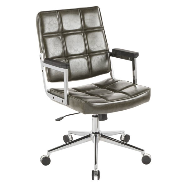 Lumisource Bureau Green Office Chair LUMI-OC-BUREAU-GN
