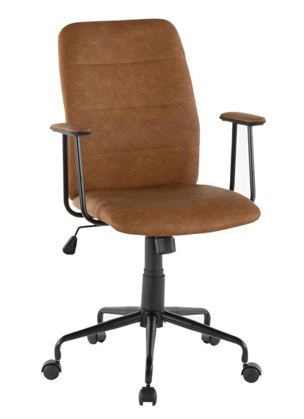 Lumisource Fredrick Brown Office Chair LUMI-OC-FRED-BK-BN