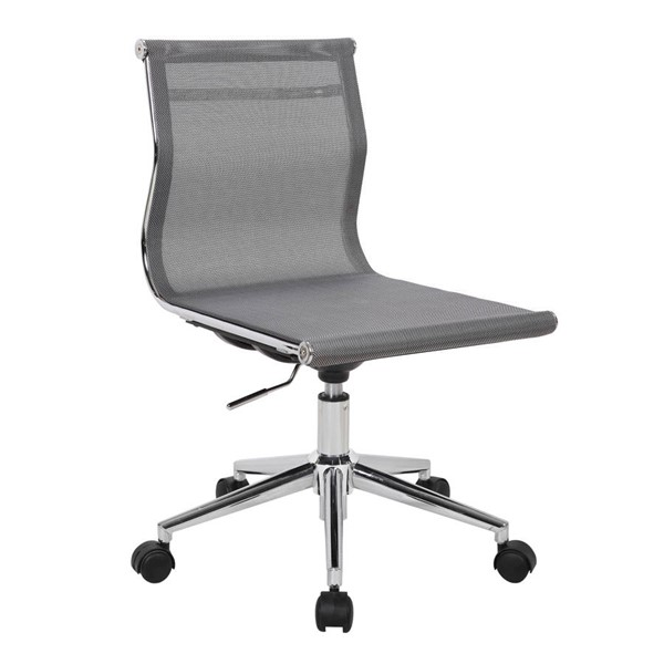 Lumisource Mirage Silver Task Chair LUMI-OC-MIRAGE-SV