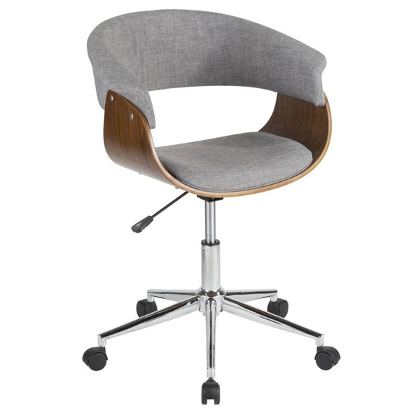 Lumisource Vintage Mod Light Grey Office Chair LUMI-OC-VMO-WL-LGY