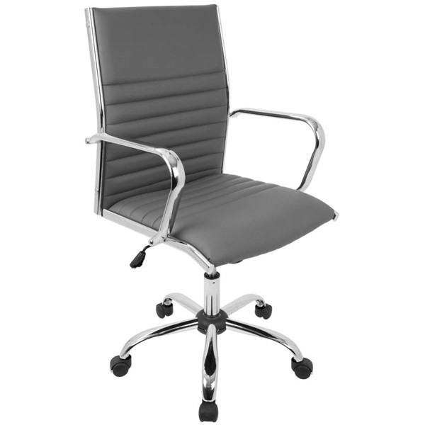 Lumisource Master Grey Office Chair LUMI-OFC-AC-MSTR-GY