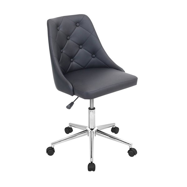 Lumisource Marche Black Office Chairs LUMI-OFC-MARCHE-VAR