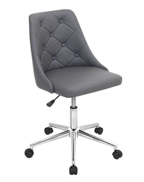 Lumisource Marche Grey Office Chair LUMI-OFC-MARCHE-GY